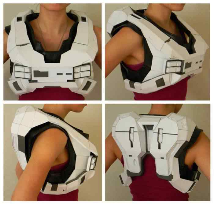 kospley 0028 Como fazer a armadura do HALO