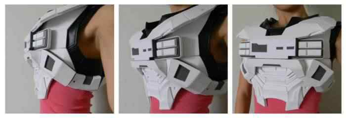 kospley 0033 Como fazer a armadura do HALO