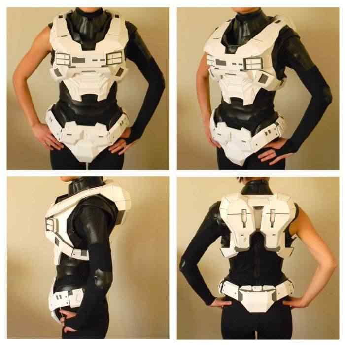 kospley 0038 Como fazer a armadura do HALO