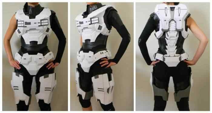 kospley 0054 Como fazer a armadura do HALO
