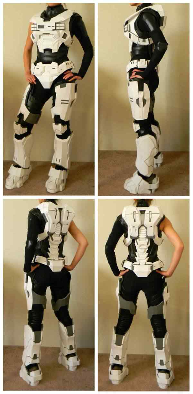 kospley 0064 Como fazer a armadura do HALO