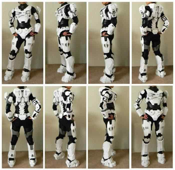 kospley 0073 Como fazer a armadura do HALO