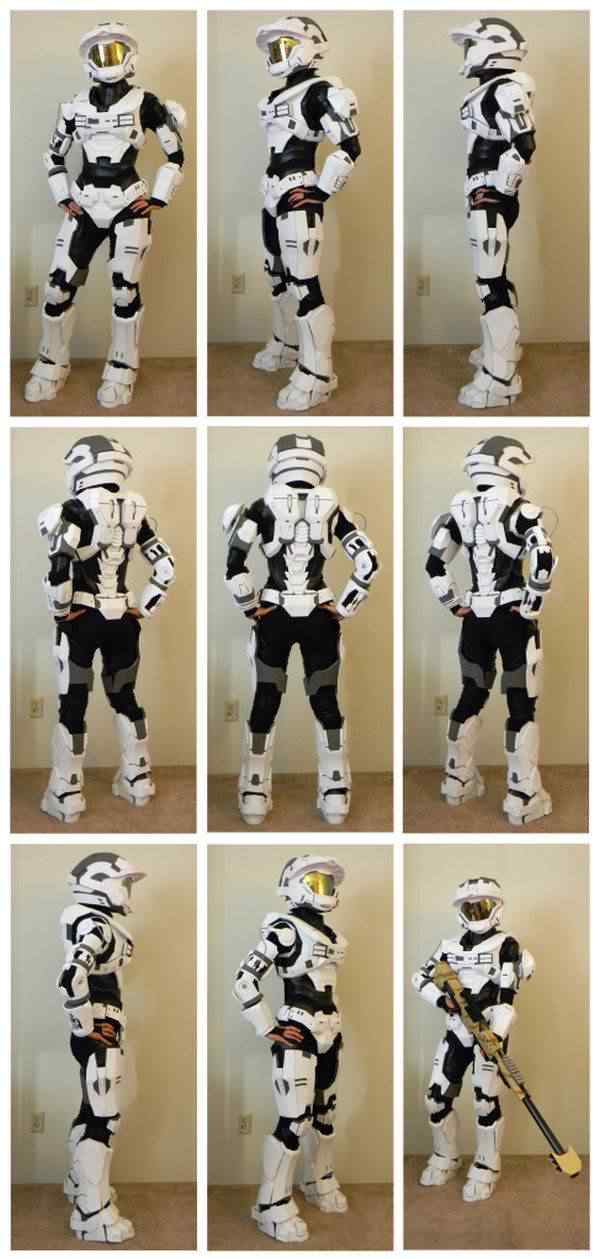 kospley 0080 Como fazer a armadura do HALO