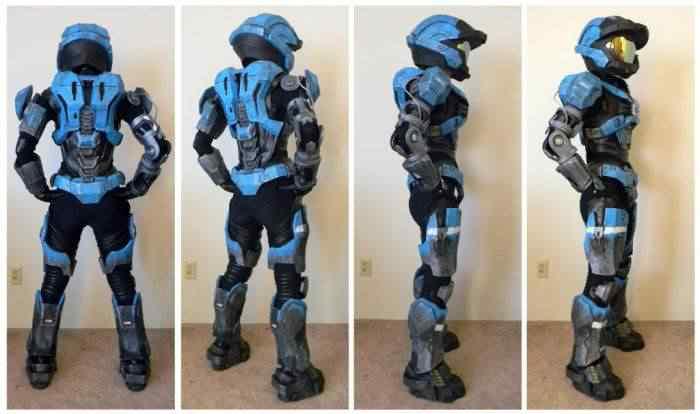 kospley 0091 Como fazer a armadura do HALO