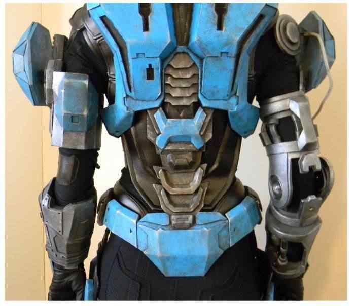 kospley 0094 Como fazer a armadura do HALO