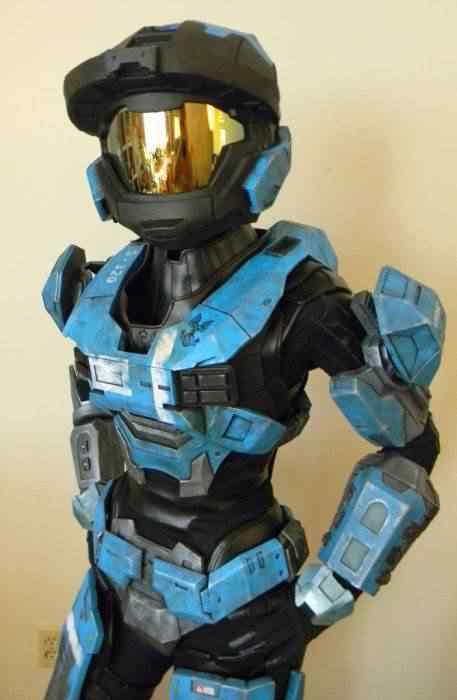kospley 0097 Como fazer a armadura do HALO
