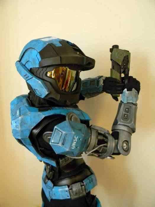 kospley 0098 Como fazer a armadura do HALO