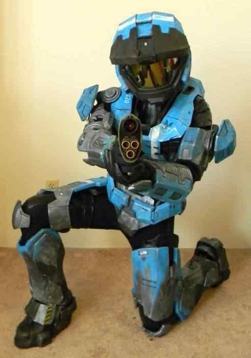 kospley 0099 Como fazer a armadura do HALO