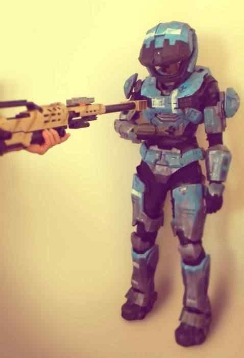 kospley 0103 Como fazer a armadura do HALO