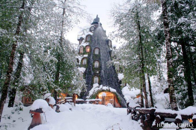 Magic Mountain Hotel 4 Top 5 construções com inspiração Hobbit