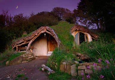 front Top 5 construções com inspiração Hobbit