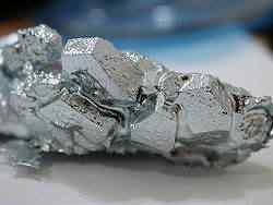 250px Gallium crystals Mais uma peça metálica supostamente extraterrestre é encontrada