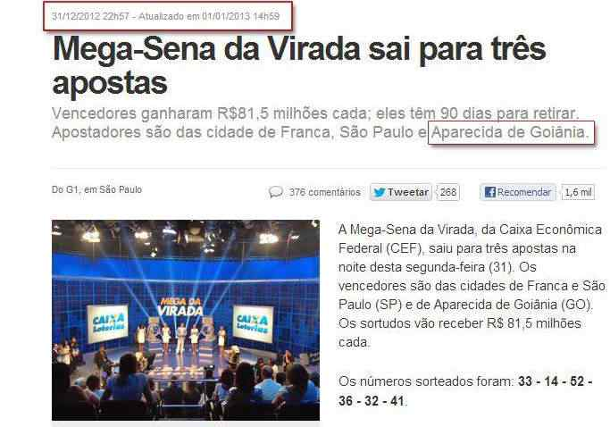 megasena A Mega Sena da virada foi manipulada?