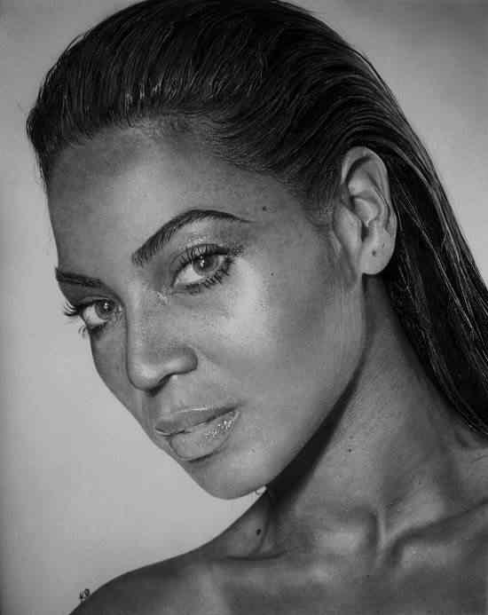 Kelvin Okafour Beyonce 550x693 As fantásticas ilustrações de Kelvin Okafor