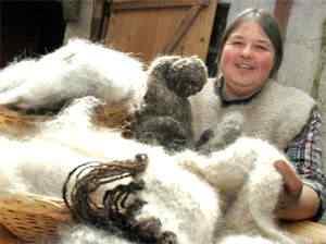 0438 pix casaco pelo cachorro2 5 materiais incomuns para fazer roupas