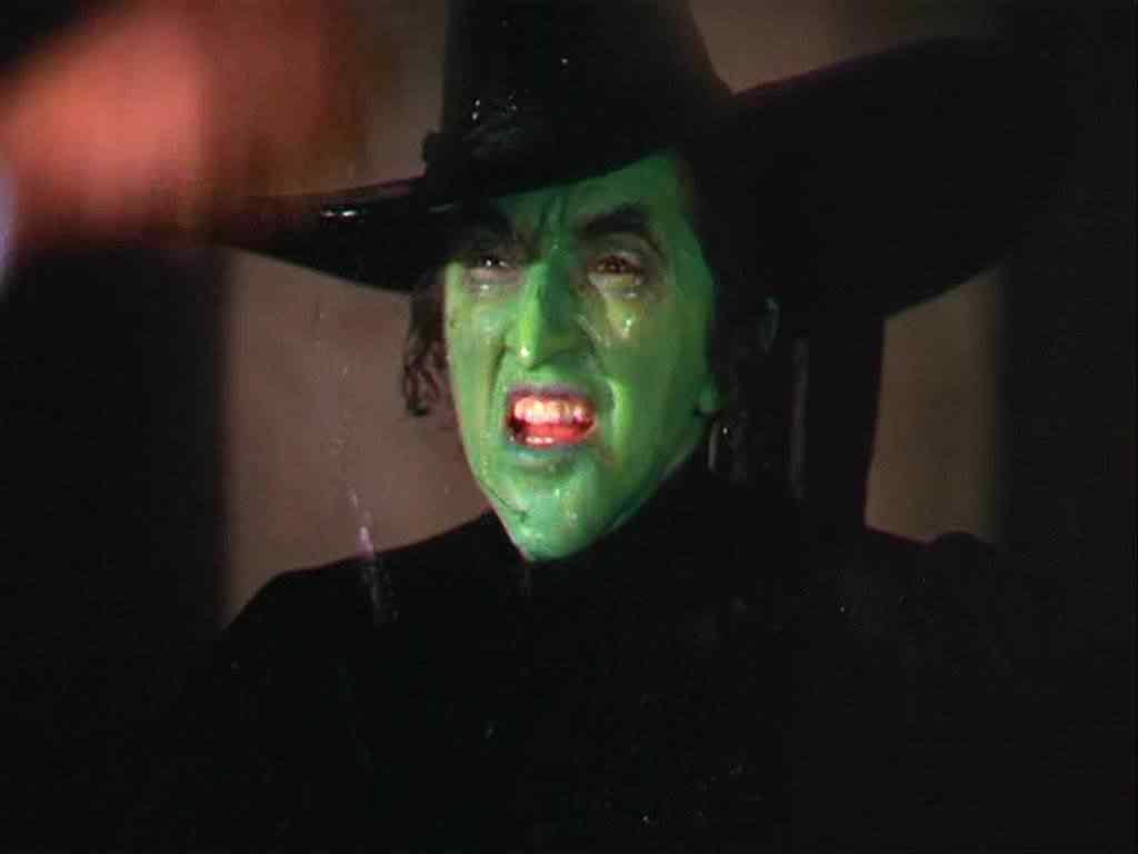 wizard of oz 1364 melting witch Top 20 derretimentos humanos do cinema