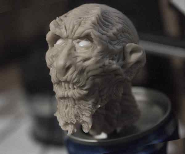 esculpindo2 Próxima escultura: White Walker