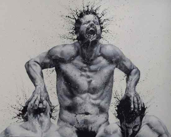 Paolo Trolio finger paintings3 Pintando com os dedos: Conheça a arte de Paolo Troilo