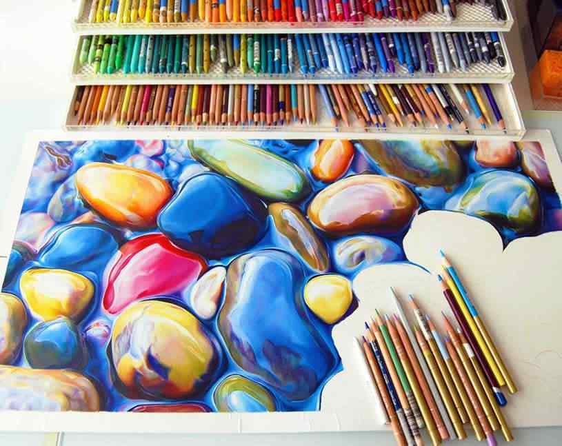 ester roi 01 Pedras coloridas