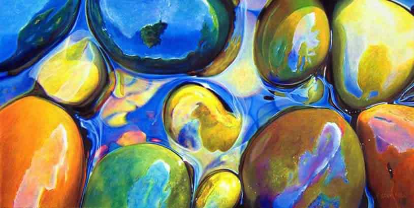 ester roi 04 Pedras coloridas