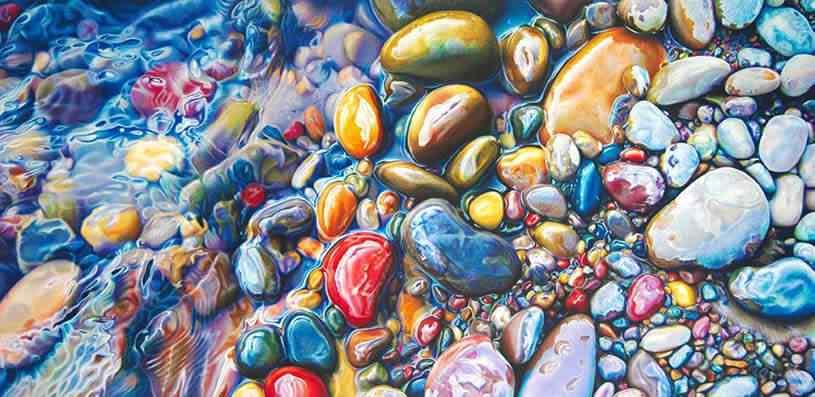 ester roi 05 Pedras coloridas