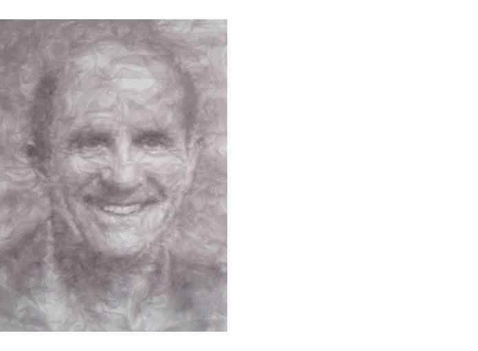 25 michael A incrível arte de Benjamin Shine usando ferro de passar