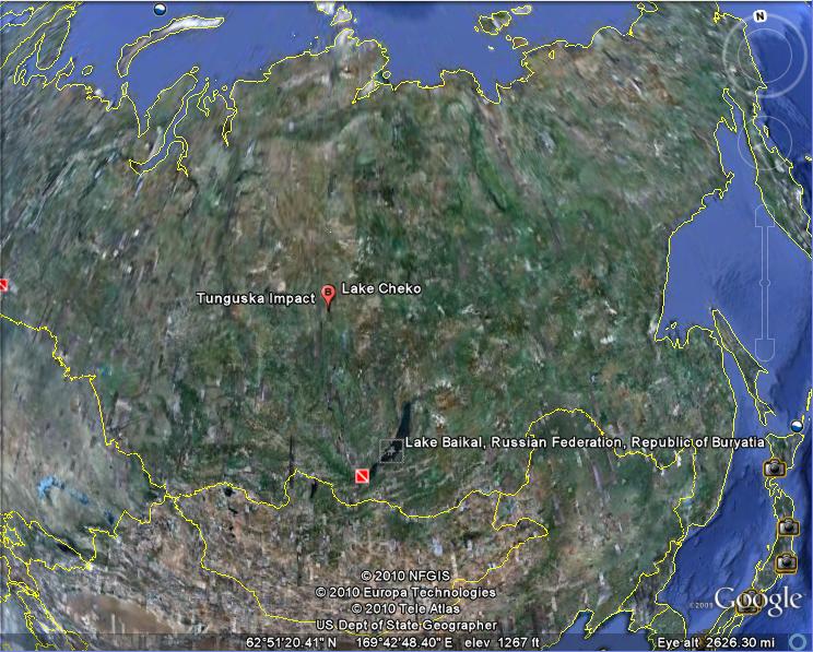 79d640961c3d Os domos misteriosos enterrados no Vale da Morte, na Sibéria