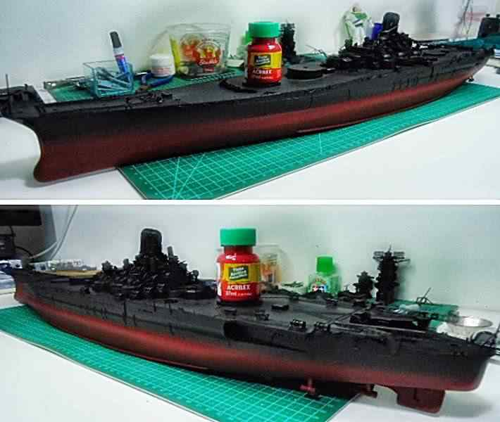 acrilex Plastimodelismo: Construindo o Yamato
