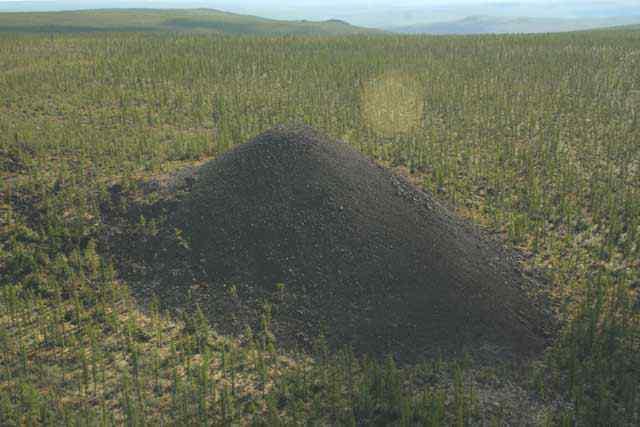 morro magnetico Os domos misteriosos enterrados no Vale da Morte, na Sibéria