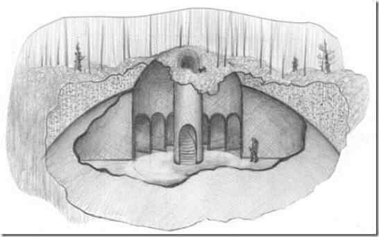 ufo calderao thumb Os domos misteriosos enterrados no Vale da Morte, na Sibéria