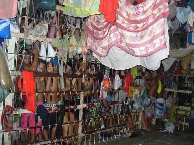 Cadeia no Brasil é assim Cadeia