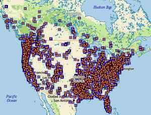 Avistamentos do pé grande nos EUA e Canadá