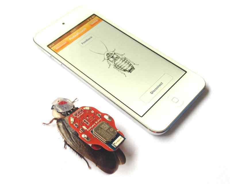 RoboRoach iPod A nova onda: Barata teleguiada