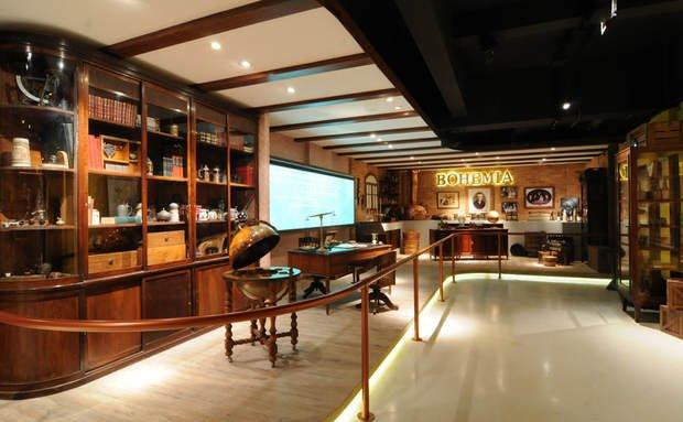 Um museu inspirado em projetos de sucesso do exterior, como a da sede da Guiness