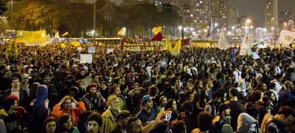 protestos Agenesia da noção