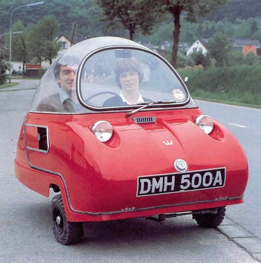 366278 original Peel 50   o menor carro do mundo