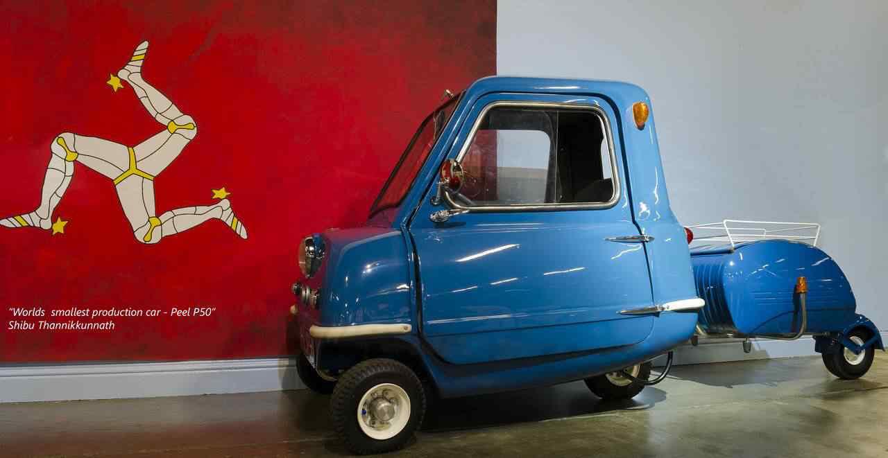367242 original Peel 50   o menor carro do mundo