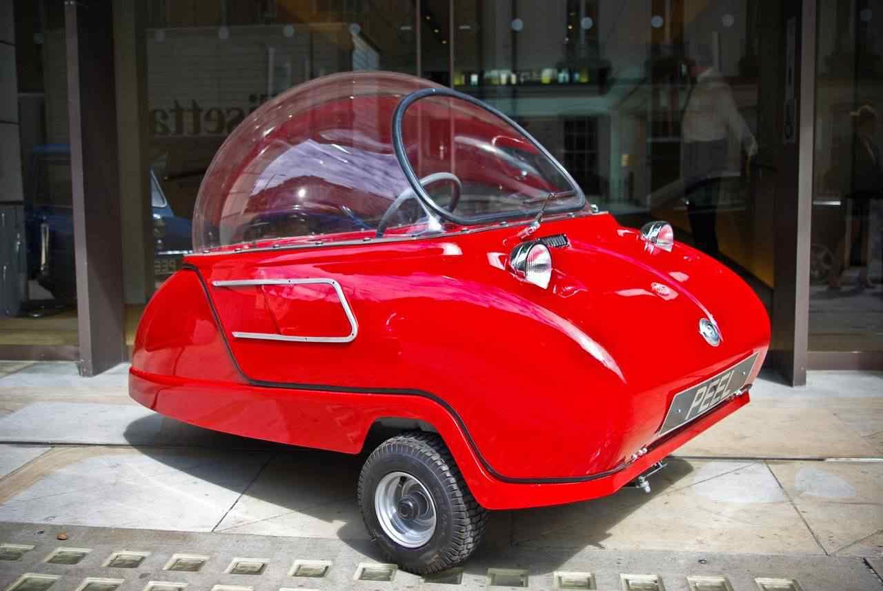 371342 original Peel 50   o menor carro do mundo