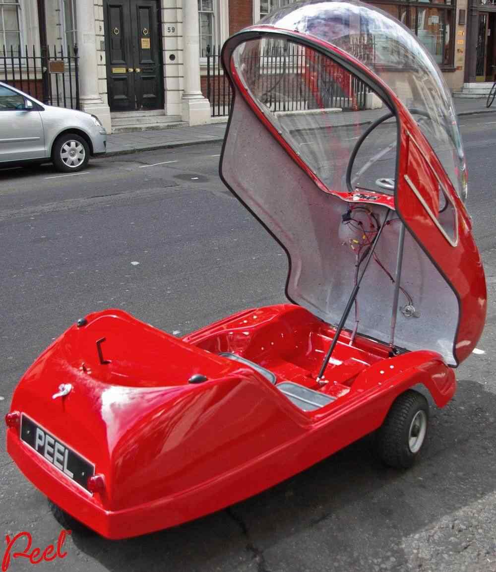 371514 original Peel 50   o menor carro do mundo