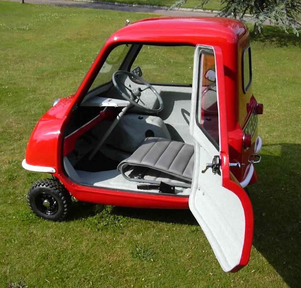 372344 original Peel 50   o menor carro do mundo