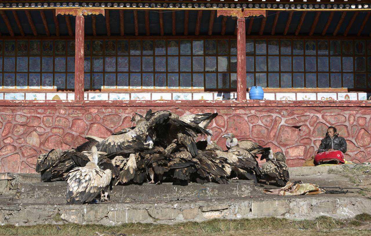 0 ef76b f978c0d4 orig Sepultamento celestial no Tibete (AVISO: não recomendado para pessoas impressionáveis)