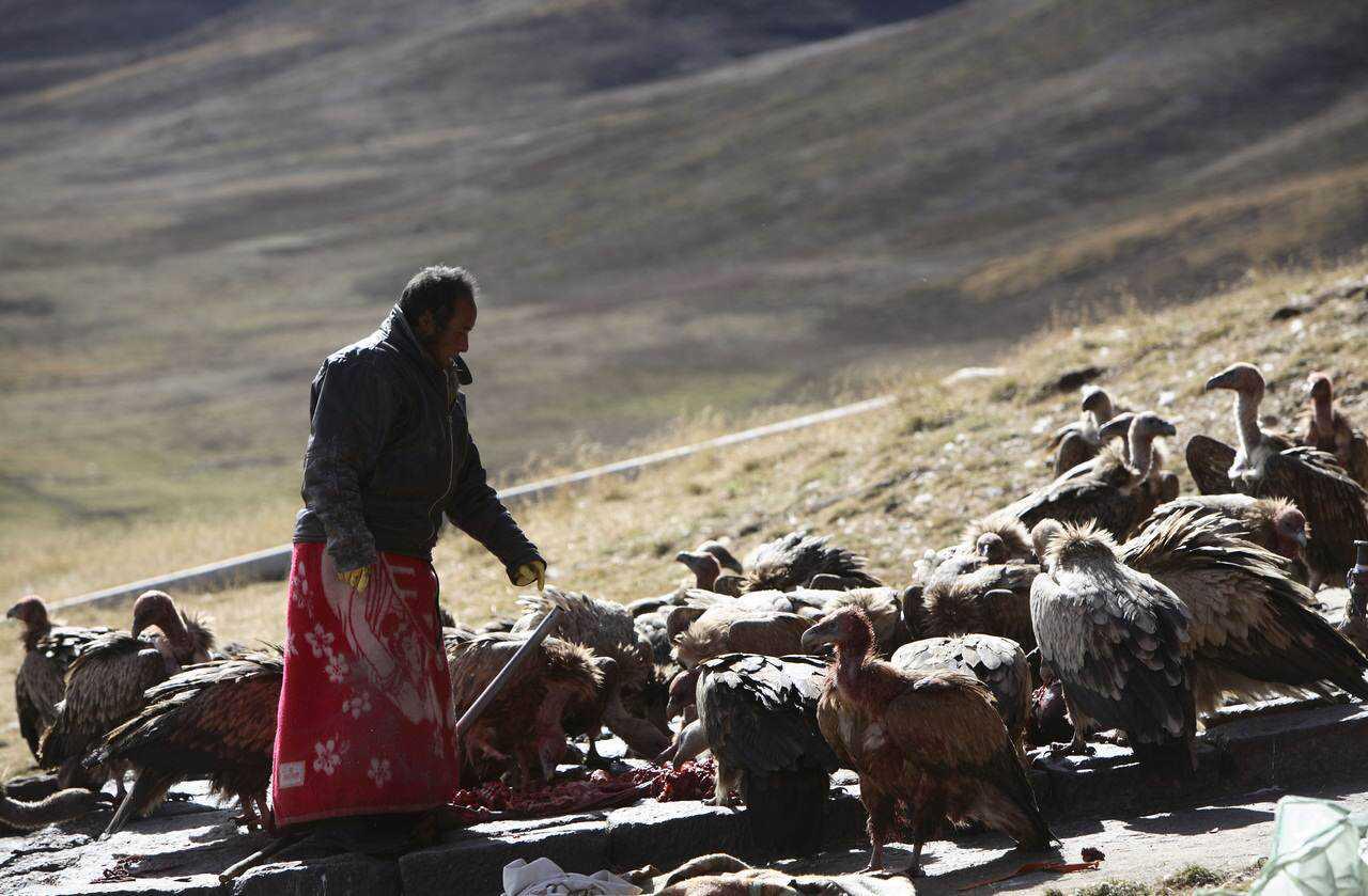 0 ef76d c5247b51 orig Sepultamento celestial no Tibete (AVISO: não recomendado para pessoas impressionáveis)
