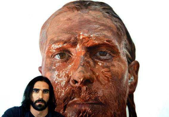 image Isso não é a foto de um sujeito com tinta na cara