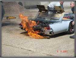 jet test 007 O carro mais rebaixado do mundo