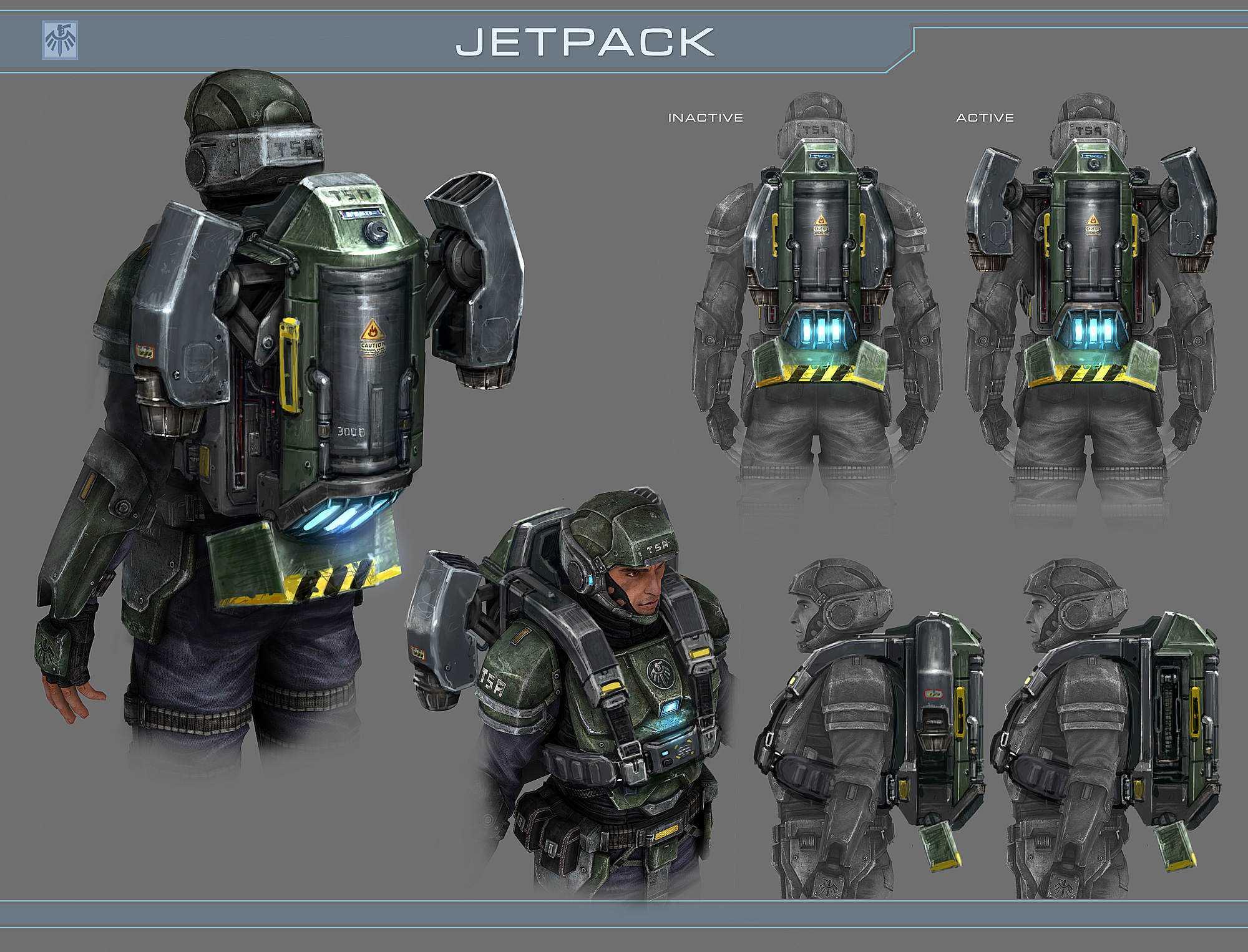 Jetpack Concept O inevitável desejo de voar: A história dos jetpacks