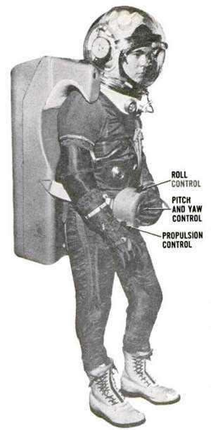 jetpack astronaut Popular Science   Google Books 300pxl O inevitável desejo de voar: A história dos jetpacks