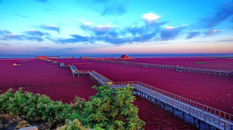 %name As praias cor de sangue na China
