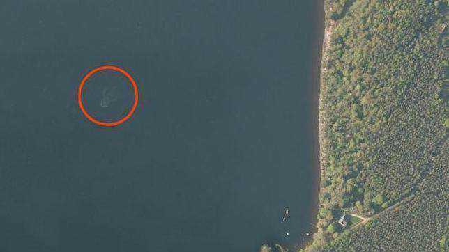 monstro do lago ness noticias the history channel 3 Monstro de Loch Ness fotografado novamente. Desta vez, do céu. Será?