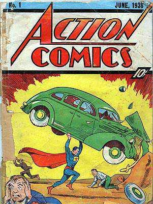 superman cover reprod 301 Zishe Breitbart e os antepassados do Super Homem