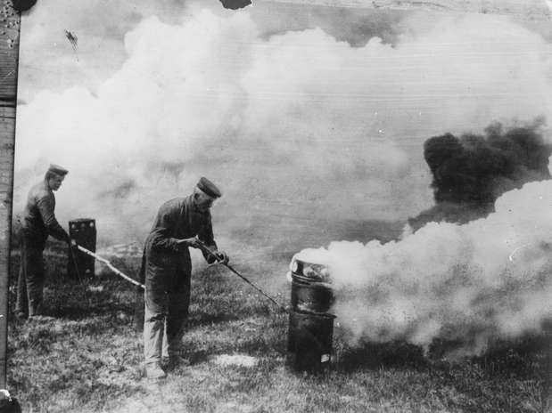 01 ataque gas primeira guerra mundial 1915 getty Chemtrails